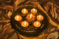Decorazioni di Diwali Immagini Stock Libere da Diritti