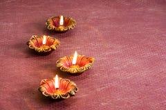 Decorazioni di Diwali Immagini Stock