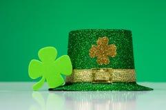 Decorazioni di giorno della st Patrick irlandese Fotografia Stock