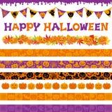 Decorazioni di Halloween Immagini Stock
