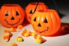Decorazioni di Halloween Immagini Stock Libere da Diritti