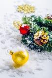 Decorazioni di Natale fotografia stock