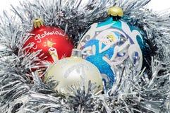 Decorazioni di Natale Immagini Stock Libere da Diritti
