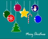 Decorazioni di Natale Royalty Illustrazione gratis