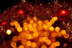 Decorazioni 7 di Natale Immagini Stock Libere da Diritti