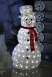 Decorazioni di Natale con Gerlandes Immagini Stock Libere da Diritti