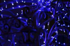 Decorazioni di Natale con Gerlandes Immagine Stock