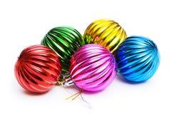 Decorazioni di Natale in festivo Fotografia Stock Libera da Diritti