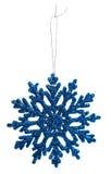 Decorazioni di Natale - fiocchi di neve Immagini Stock Libere da Diritti