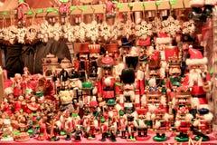 Decorazioni di Natale, mercato di Natale di Monaco di Baviera Immagini Stock