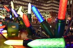 Decorazioni di Natale, New York Immagini Stock Libere da Diritti