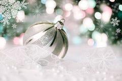 Decorazioni di Natale, retro effetto Immagini Stock