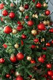 Decorazioni di Natale in studio Fotografia Stock Libera da Diritti