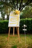 Decorazioni di nozze Fotografia Stock Libera da Diritti