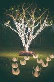 Decorazioni di nozze Fotografie Stock