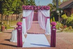 Decorazioni di nozze Fotografia Stock