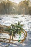 Decorazioni di nozze Immagine Stock Libera da Diritti