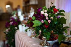 Decorazioni di nozze Fotografie Stock Libere da Diritti