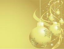 Decorazioni di nuovo anno Fotografia Stock