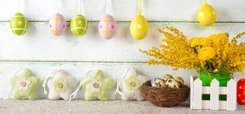 Decorazioni di Pasqua Immagini Stock Libere da Diritti