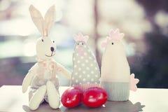Decorazioni di Pasqua Immagine Stock Libera da Diritti