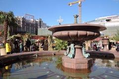 Decorazioni di Pasqua a Mosca Fotografie Stock
