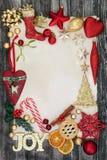 Decorazioni e simboli del Natale Immagine Stock Libera da Diritti