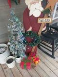 Decorazioni ed albero di natale Immagine Stock Libera da Diritti