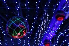 Decorazioni esposizione alla luce di Canberra Sids e dei bambini Immagini Stock Libere da Diritti
