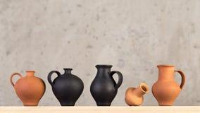 Decorazioni fatte a mano ceramiche decorative fotografie stock libere da diritti