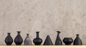 Decorazioni fatte a mano ceramiche decorative immagini stock libere da diritti