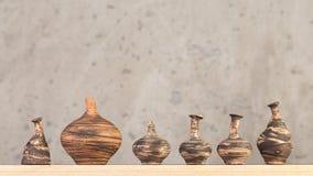 Decorazioni fatte a mano ceramiche decorative fotografie stock