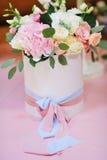 Decorazioni floreali di nozze Fotografia Stock