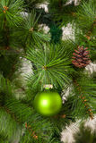 Decorazioni isolate dell'Natale-albero 2016 buoni anni Fotografie Stock