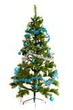 Decorazioni isolate dell'Natale-albero 2016 buoni anni Immagine Stock
