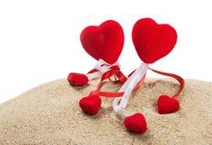 decorazioni per un San Valentino felice di festa Immagini Stock Libere da Diritti