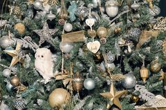 Decorazioni sull'albero di Natale Immagine Stock