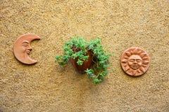 Decorazioni sulla parete Immagini Stock