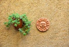 Decorazioni sulla parete Immagine Stock