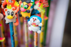 Decorazioni tradizionali di colore nel festival di mezzo autunno dell'Asia fotografia stock libera da diritti