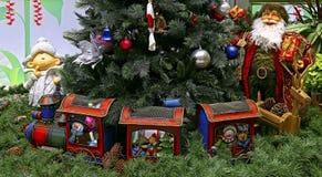 Decorazioni tradizionali di Natale Immagini Stock