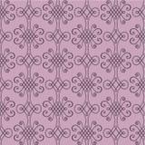 Decoretive damast modellbakgrund Royaltyfria Bilder