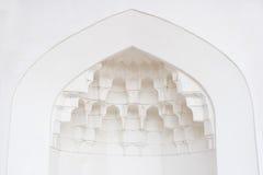 Decori in moschea Fotografia Stock Libera da Diritti