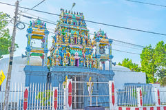 Decors of Hindu Temple in Negombo Royalty Free Stock Images