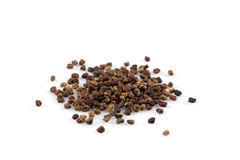 Decorticated cardamom seeds Stock Images