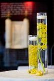 Decosrations de la flor de la boda Fotografía de archivo libre de regalías