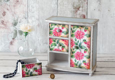 Decoupage Armoire Stock Photos