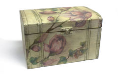 Decoupage box Royalty Free Stock Photo