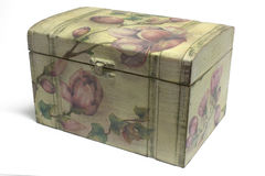 Decoupage box Royalty Free Stock Images