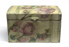 Decoupage box Royalty Free Stock Photography